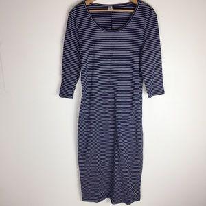 Old Navy Blue Stretch SP Romantic T-Shirt Dress